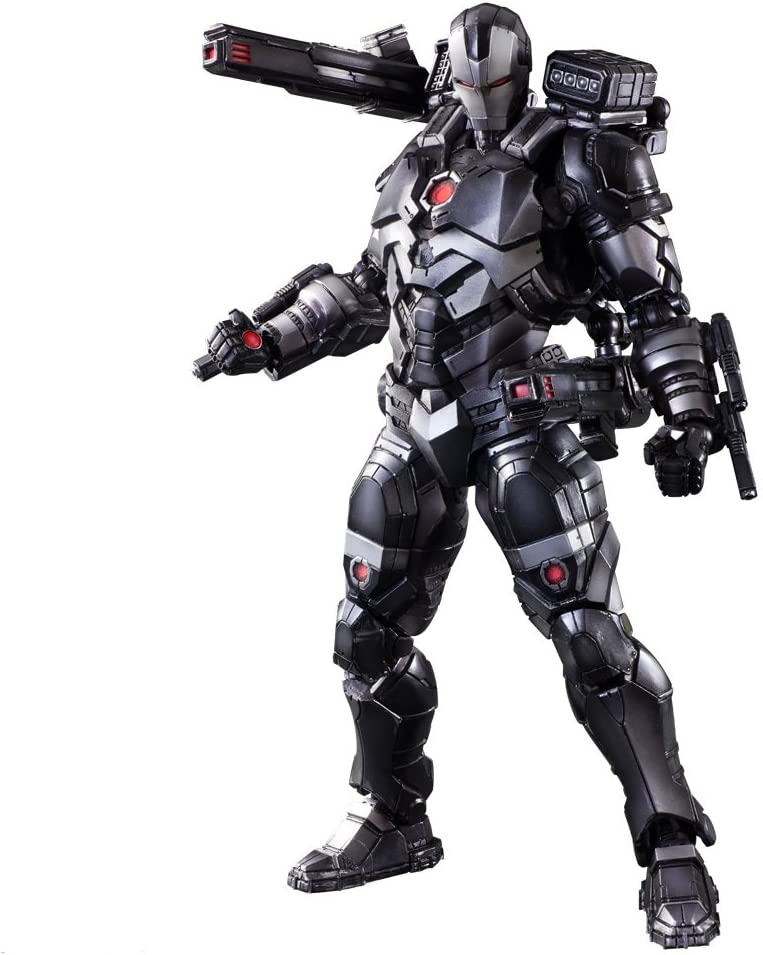"""10/"""" Avengers War Machine Action Figure Play Arts Kai Collection Toy Gift In Box"""