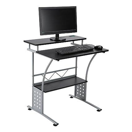 Marco de acero para ordenador, oficina en casa estación de trabajo ...