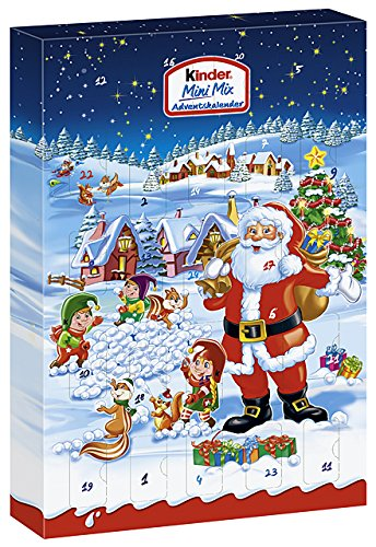 Kinder Mini Mix Adventskalender, 1er Pack (1 X 152 G): Amazon.de:  Lebensmittel U0026 Getränke