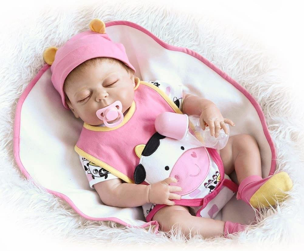 NPK人形Rebornベビー人形ソフトSiliconeビニールLifelike新生児赤ちゃん人形with Clothes for親子Playmate
