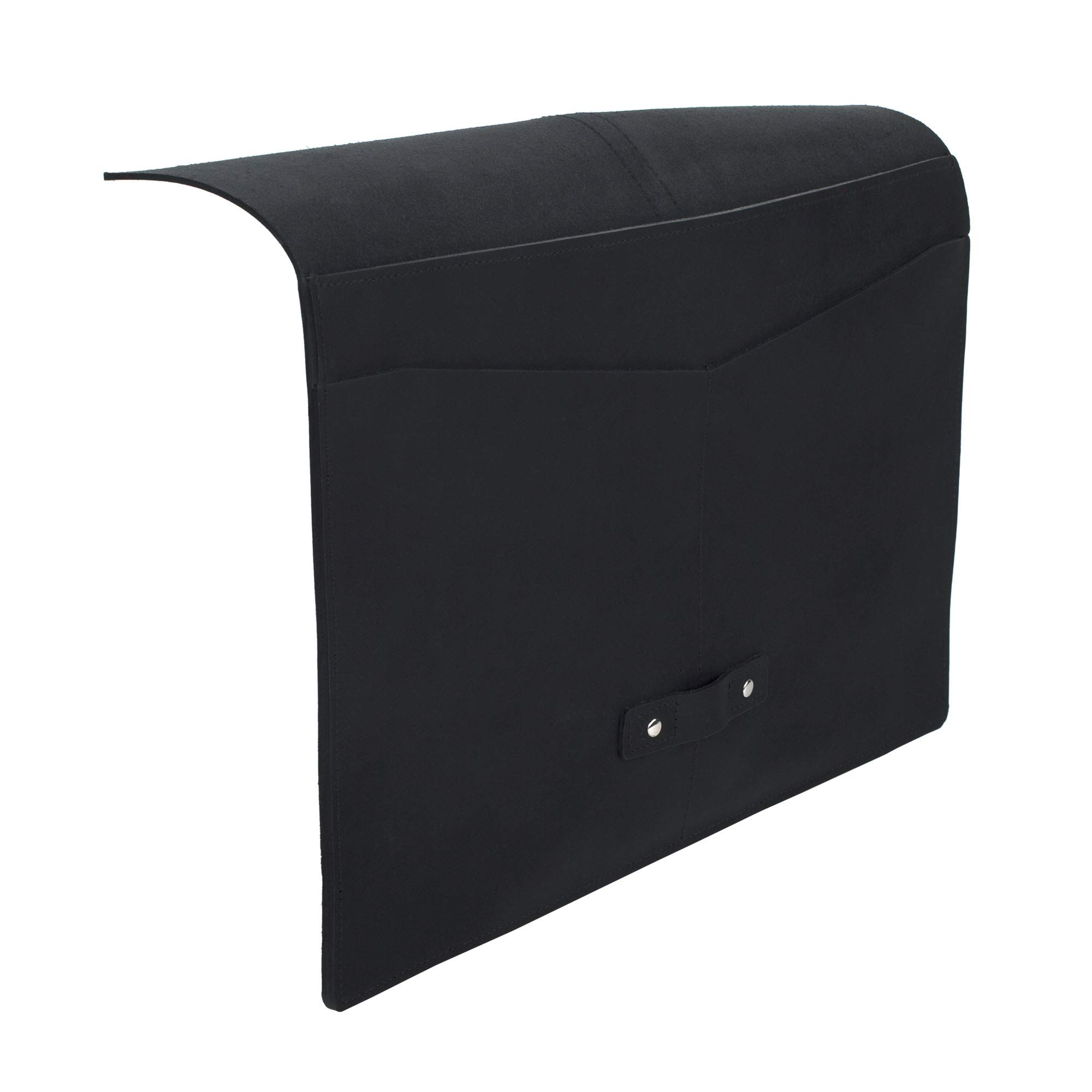 SLATE COLLECTION Belltown Small Laptop Sleeve, Full-Grain Leather (Midnight, fits 13'' Laptop) by SLATE COLLECTION (Image #7)