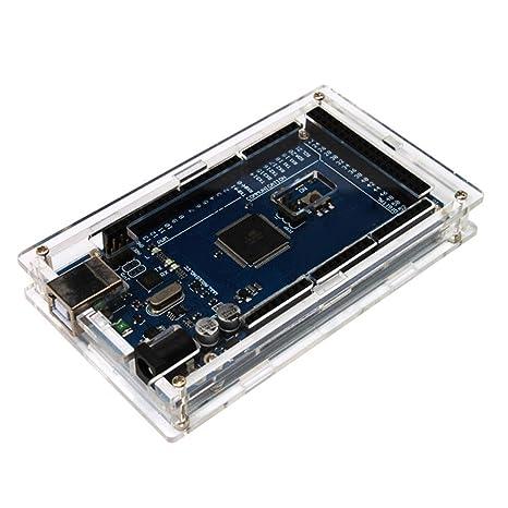 KKmoon carcasa transparente de acrílico para Arduino Mega ...
