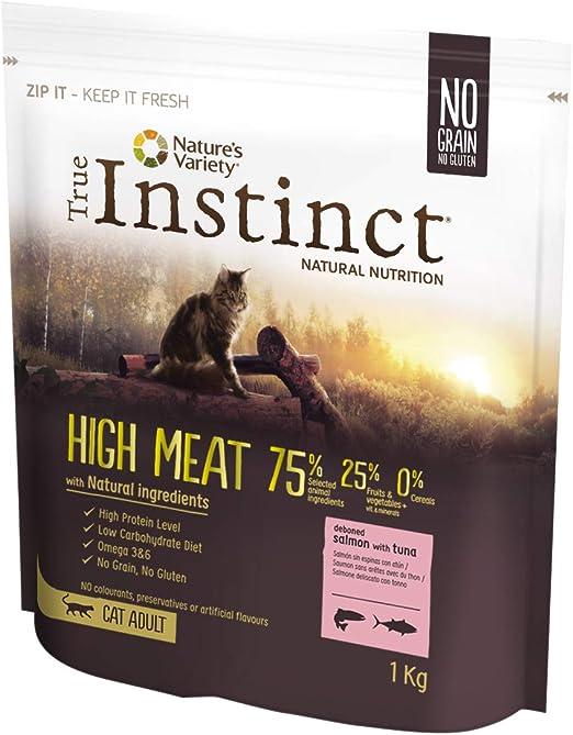True Instinct High Meat - Pienso para Gatos Adultos con Salmón sin ...