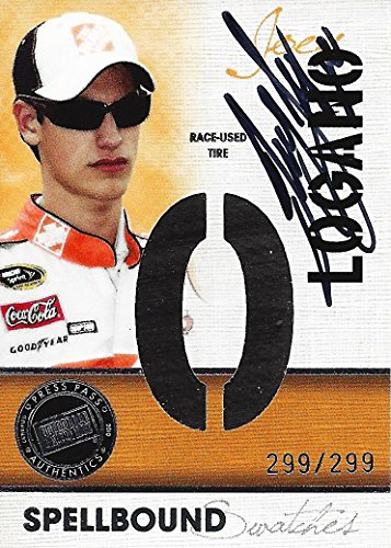 AUTOGRAPHED Joey Logano 2010 Press Pass Racing SPELLBOUND...