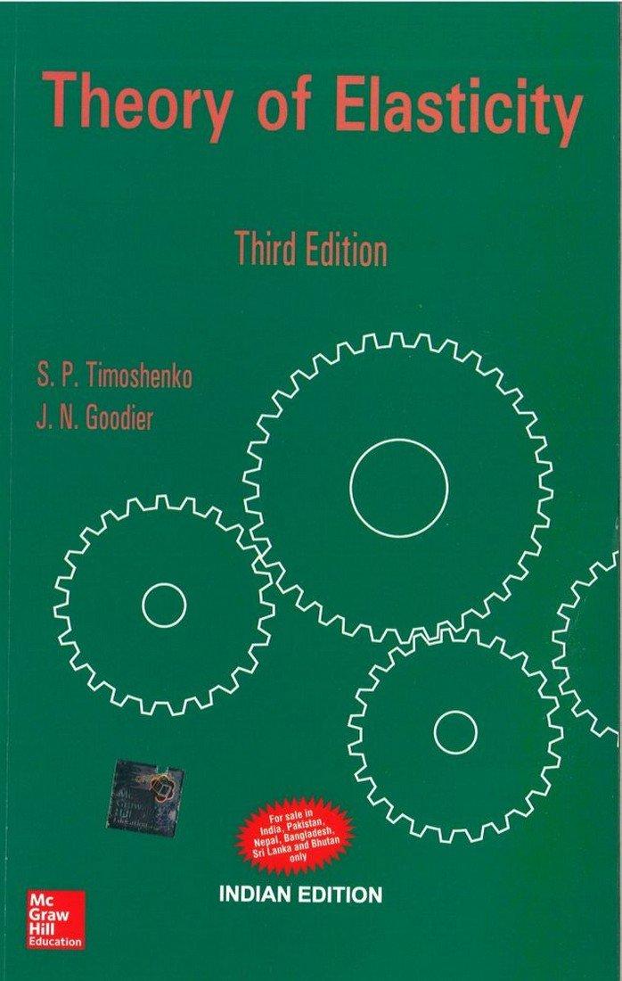 Theory Elasticity S Timoshenko Goodier product image