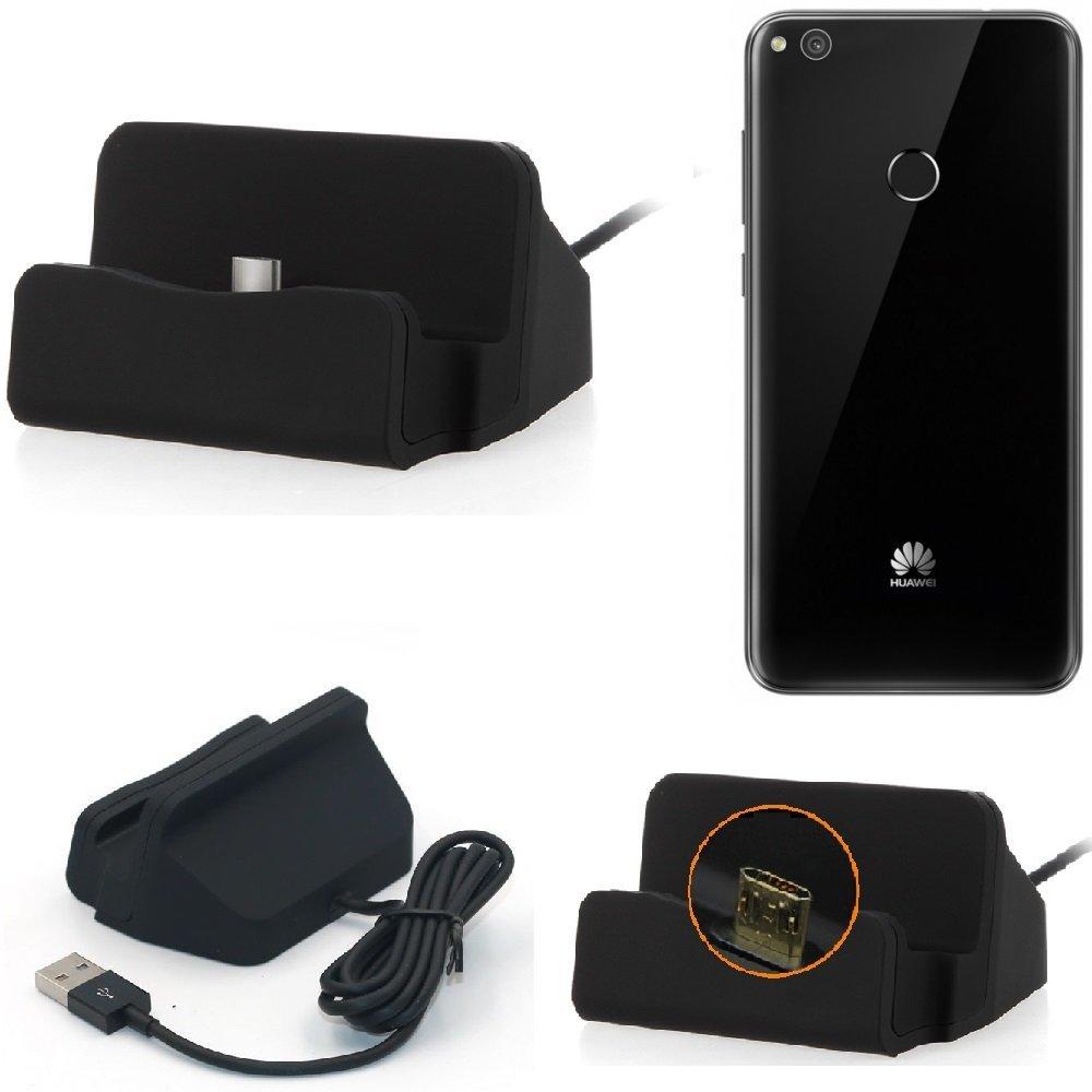 K-S-Trade Base de Carga para Huawei P8 Lite 2017 Single SIM ...