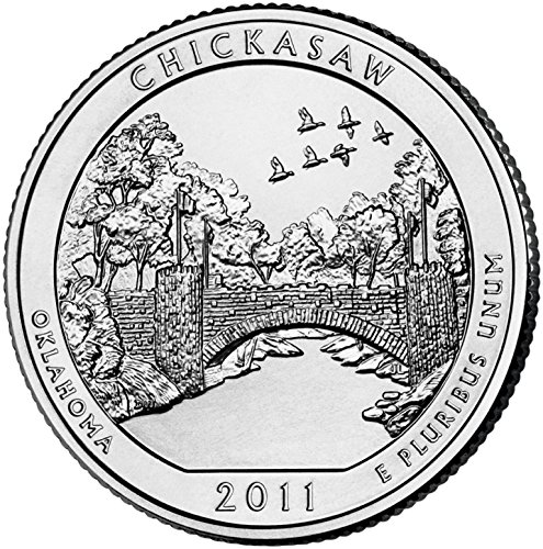 2011 D Bankroll on Chickasaw National Park Uncirculated