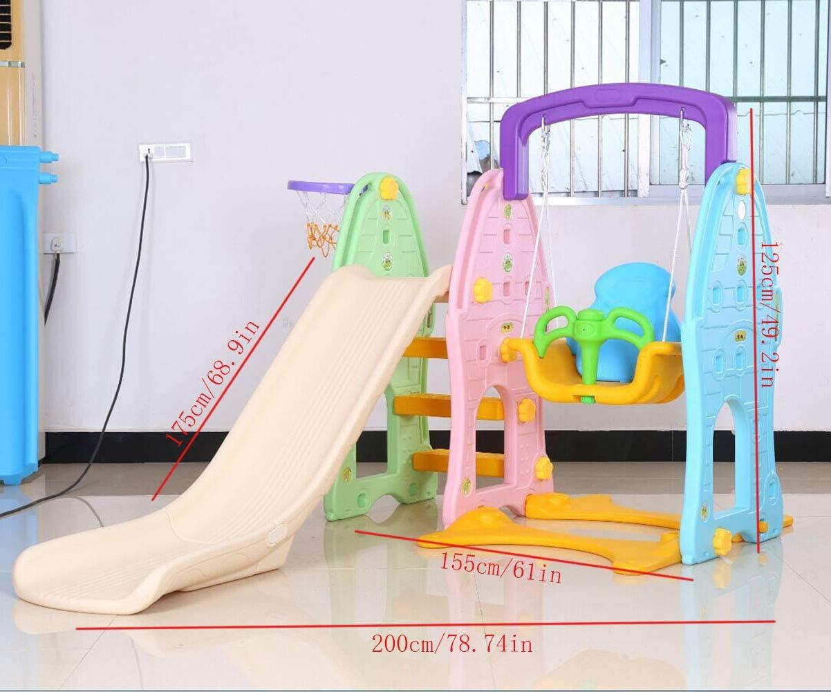 Thole Toboganes Infantil y Columpios Niños Diapositiva Juguetes para con luz de Noche Interior/Exterior/Parque/Jardín,Green: Amazon.es: Deportes y aire libre