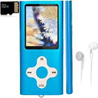 $22 » Mp3 Player,Music Player with a 32 GB Memory Card Portable Digital Music Player/Video/Voice…