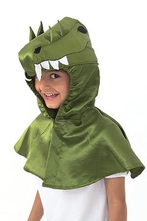 Lucy Locket - Disfraz/capucha de cocodrilo para niño (3-8 años)