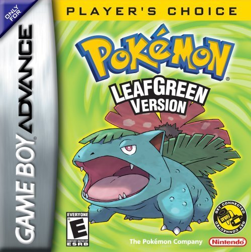 leaf green gameboy advance - 2