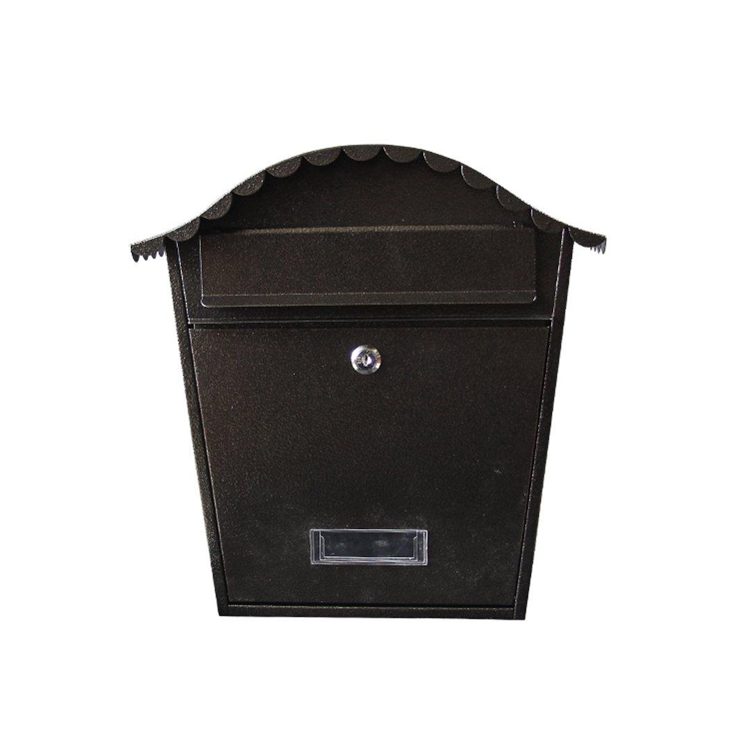 HZB ヴィラ郵便受け屋外郵便箱ヨーロッパの吊り下げ壁屋外防水新聞箱   B07H7H7283