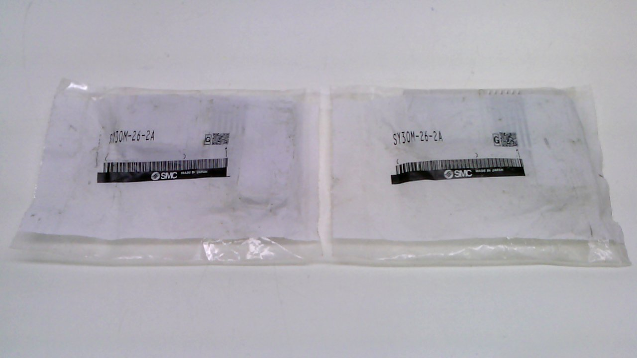Pack of 2 Smc Sy30m-26-2A Pack of 2 Blanking Plate Assembly for Sy3000 Sy30m-26-2A