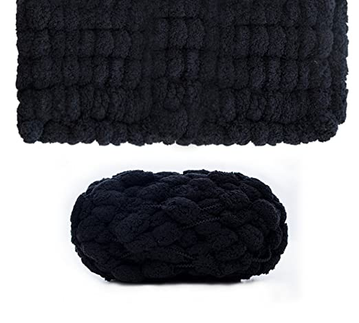 Chunky - Ovillo para tejer (con lana para tejer cojín ...
