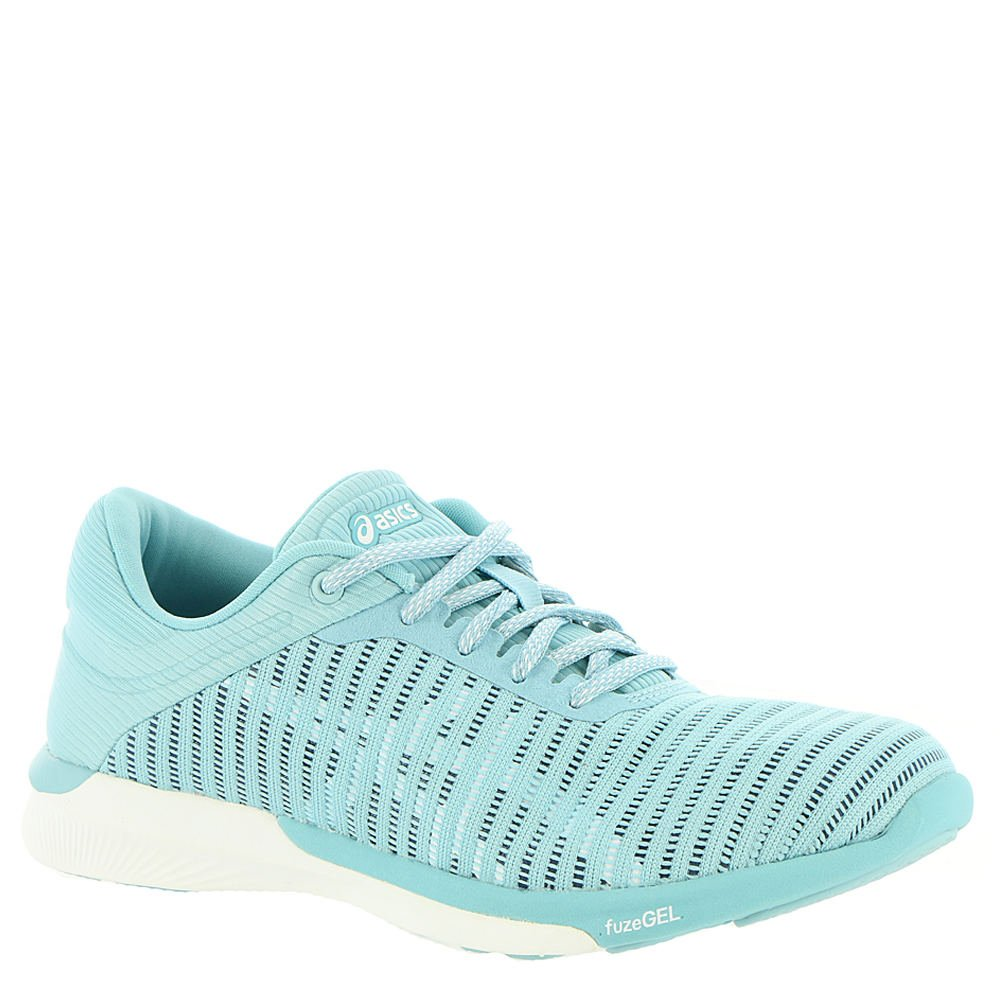 ASICS Women's fuzeX Rush Adapt Running Shoe B0711SVG33 5 B(M) US|Porcelain Blue/White/Smoke Blue