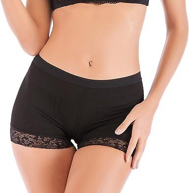 Women Padded Bum Lifter Shapers Panties Buttocks Hip Enhance Shorts Booty Briefs