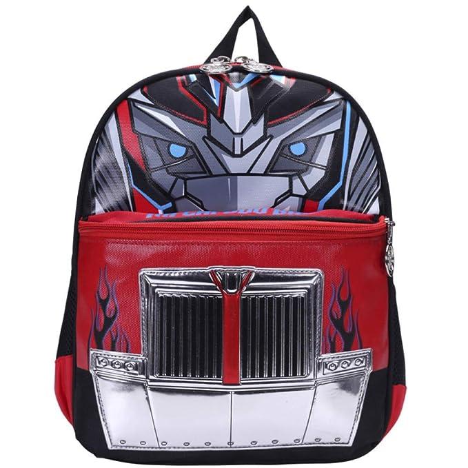 Mochilas Infantiles Transformers Mochila Escolar Para Niños Adolescentes Ligeros Mochilas Para Niños Y Niñas Bolsas Escolares De 6-8 Años ...