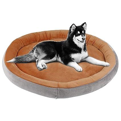 JoicyCo - Cojín ortopédico para Cama de Perro y Gato, Lavable con Funda extraíble,