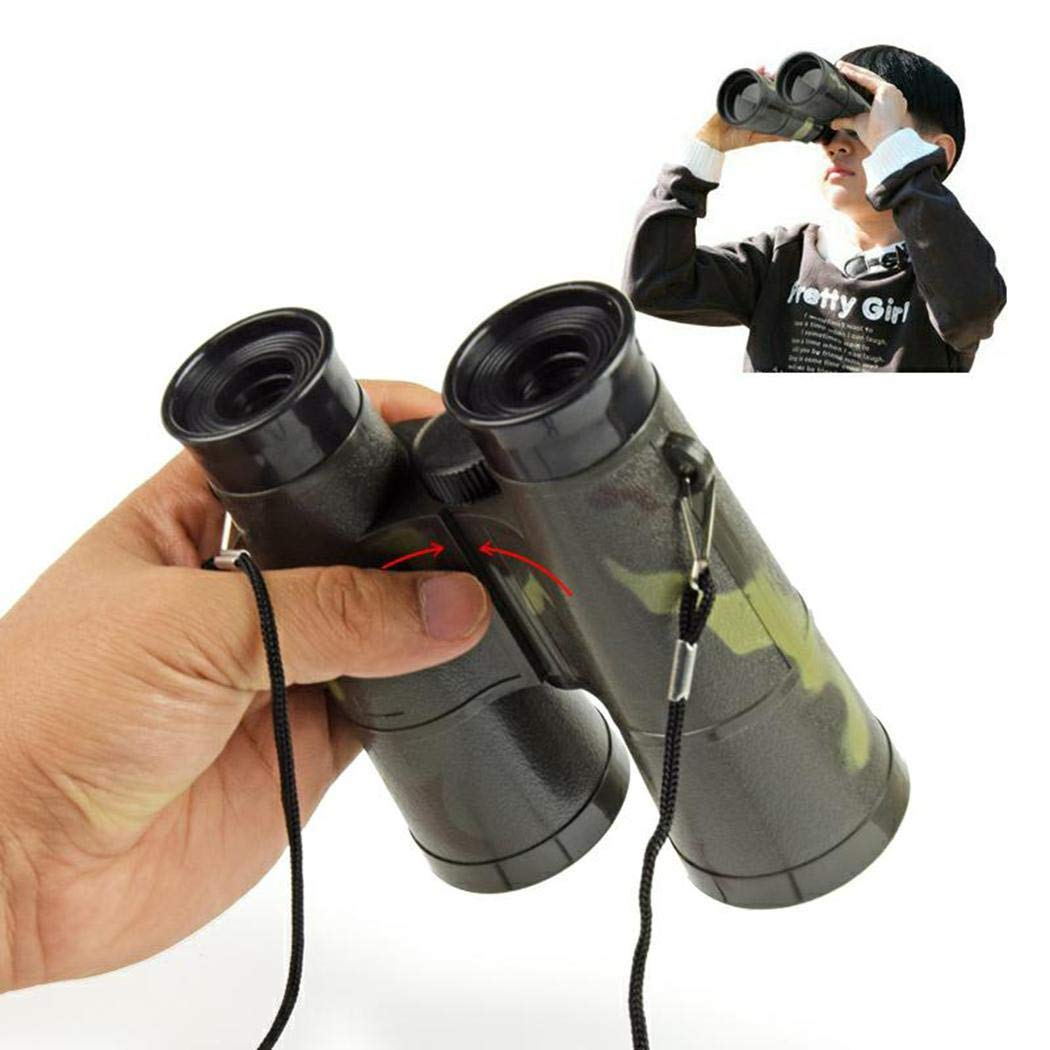 Childrens Toy Binoculars for Spy Camping Gear Educational Toys berill 6-35 High Power Binoculars for Kids High Resolution
