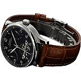 Whatswatch Parnis PA-01127 - Cronómetro de reserva de energía para hombre, color negro