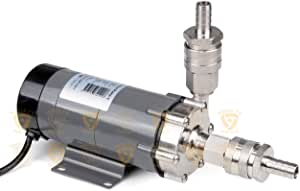 SS304 Head with Quick Disconnect Fitting Magnetic Drive Pump
