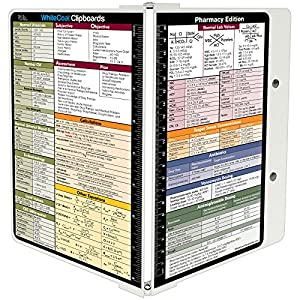 Amazon.com : WhiteCoat Clipboard- White - Pharmacy Edition ...