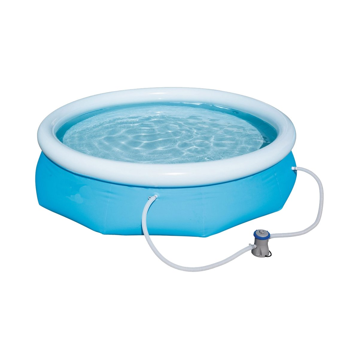 Dabuty Online, S.L. Piscina hinchable con filtro Best Way medidas 244 x 66 cm.: Amazon.es: Hogar