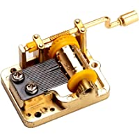 YouTang(TM) 18 Note Hand Cranked Musical Mechanism DIY Music Box Movement Different Songs Available