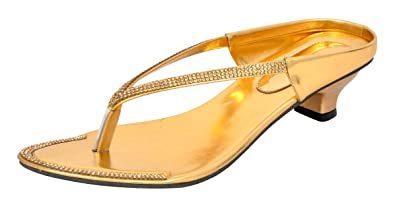 4ea54a316d3e94 Altek Women s Fashion Sandals Gold  Buy Online at Low Prices in ...