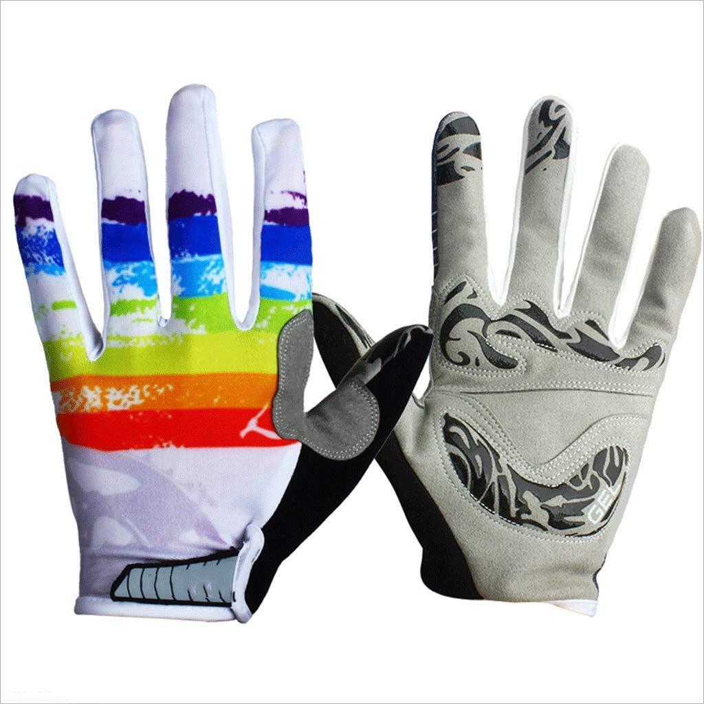 ZDYLL Touch Screen Gloves, Winter Gloves Driving Cycling Gloves Work Gloves for Men and Women (Size : Iridescent-XL) by ZDYLL