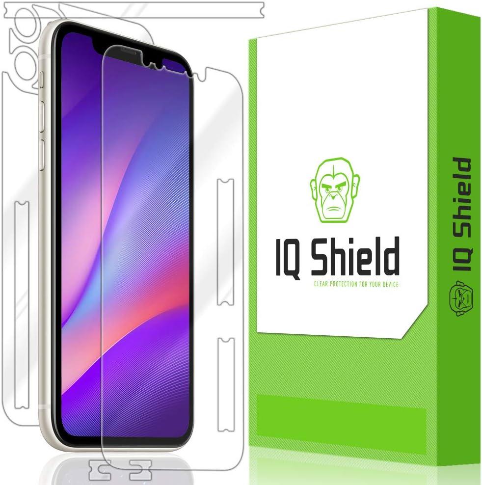 6.5 inch IQ Shield Matte Full Body Skin Compatible with Apple iPhone 11 Pro Max Screen Protector and Anti-Bubble Film + Anti-Glare Full Coverage