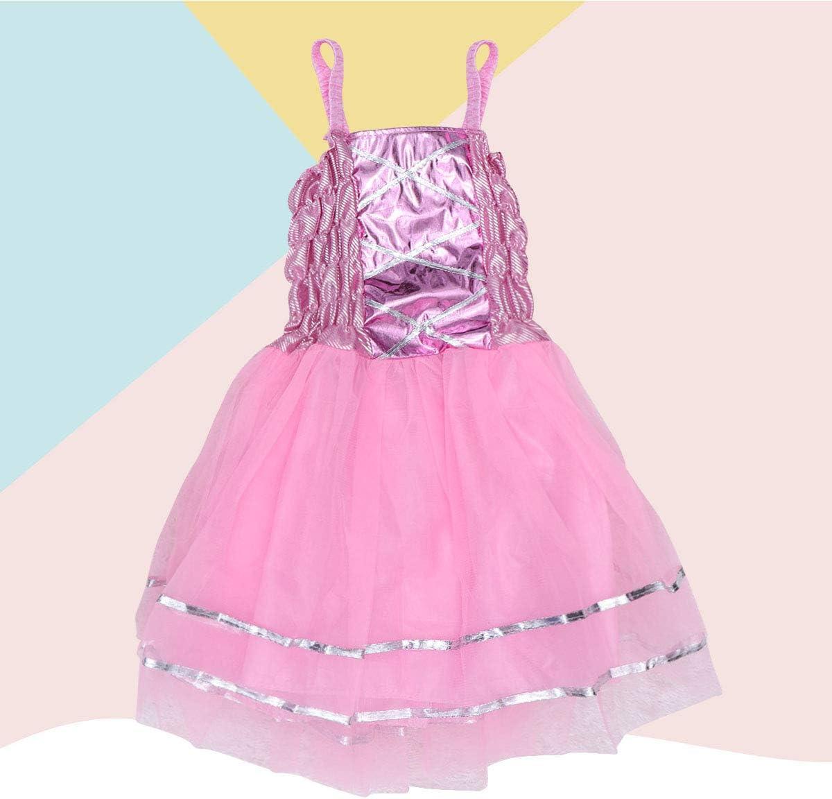BESTOYARD Vestido de Disfraz de Princesa de Hada para Fiesta de ...