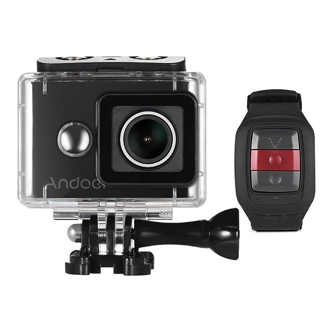 3 opinioni per Andoer AN8000 4K Wifi Azione sportiva telecamera a distanza senza fili subacquea