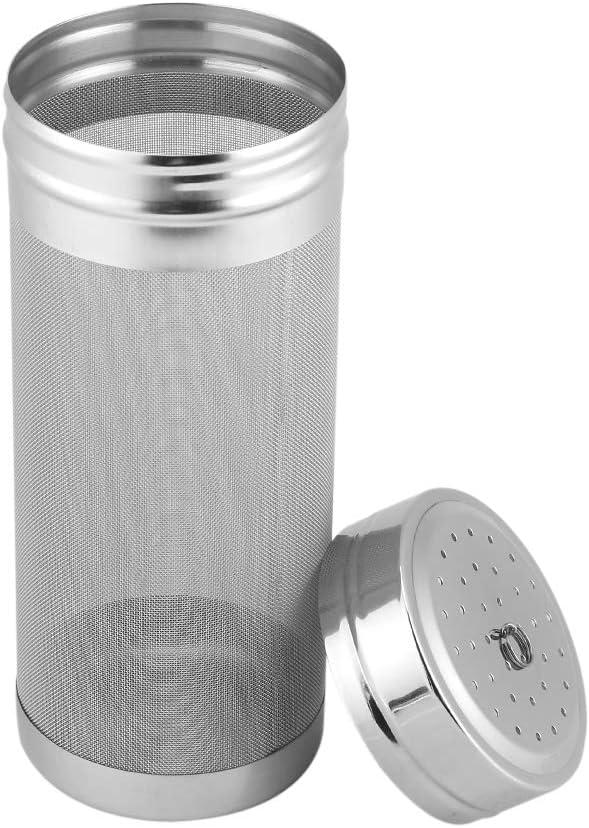 Filtro de tolva seco de cerveza de acero inoxidable de 300 micrones Filtro de malla de tubo de em...