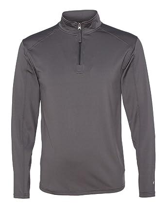 800171389b55 Badger mens Lightweight 1 4-Zip Pullover (4280) at Amazon Men s ...