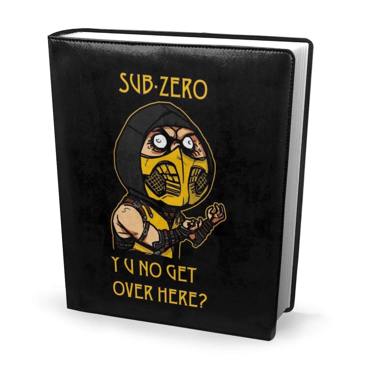 Funda para libro de 9 x 11 pulgadas Ninja Meme Sub Zero ...