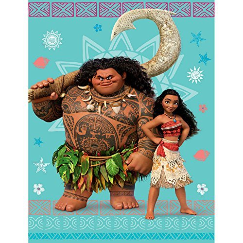 Moana and Maui Plush Throw 46 x 60