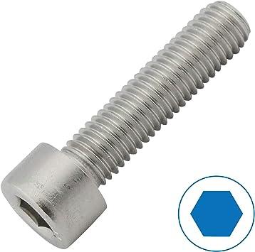 Gewindeschrauben Eisenwaren2000 DIN 912 - Zylinderkopf Schrauben ISO 4762 Zylinderschrauben mit Innensechskant M5 x 80 mm Edelstahl A2 V2A- rostfrei 20 St/ück