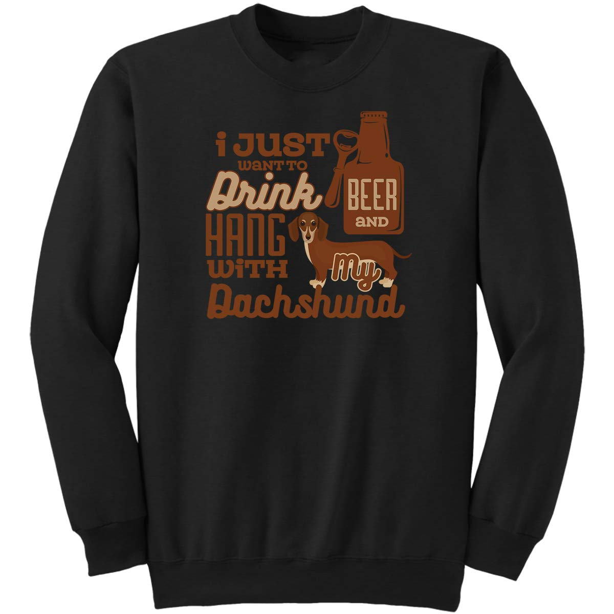 I Just Want to Drink Beer-Drinking Love Sweatshirt
