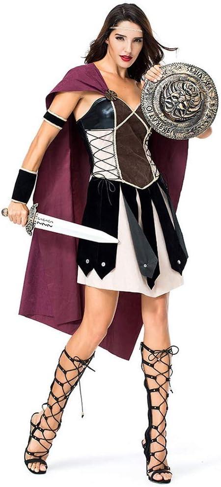 Disfraz de Guerrero Espartano para Mujer, Disfraz de Gladiador ...