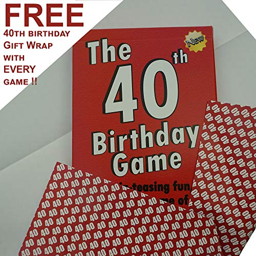 Buy 40th birthday gift ideas