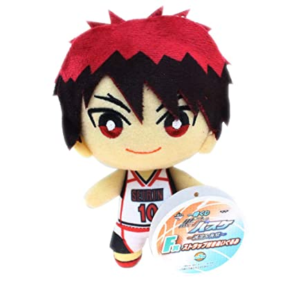 tiddy Kurokos Basketball Plush Toy Doll, Plush Toy Pendant, Backpack Pendant, Best Gift Collection Toy 15cm( Kagami Taiga)