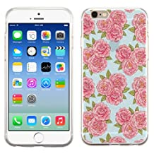 PhoneTatoos (TM) Iphone 5S Vintage Flower Transparent Clear Candy Skin Cover
