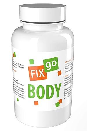 FIXgo BODY | Ayuda a adelgazar + disminuir el cansancio | Vegano: Amazon.es: Salud y cuidado personal