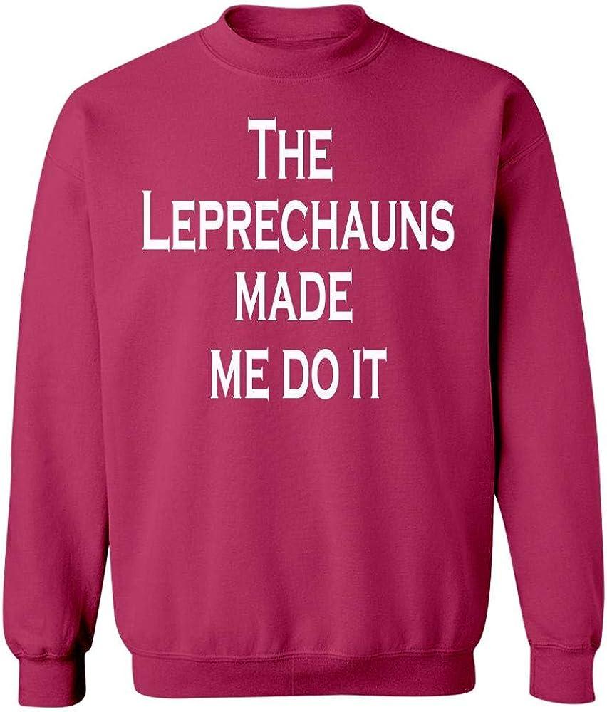 Sweatshirt Cool Apparel Shop The Leprechauns Made Me Do It Irish Patricks Day
