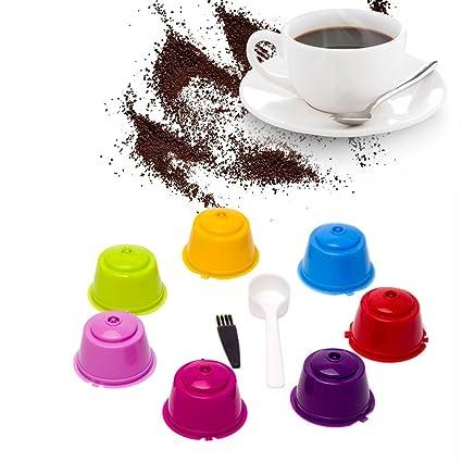 Cápsulas Filtros de Café Filtros de Café Recargable Reutilizable Filtro de Cápsula de Café para Dolce