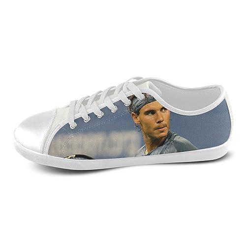 show-shoes Custom Rafael Nadal con cordones para hombre zapatos de lona suave cómodo zapatillas