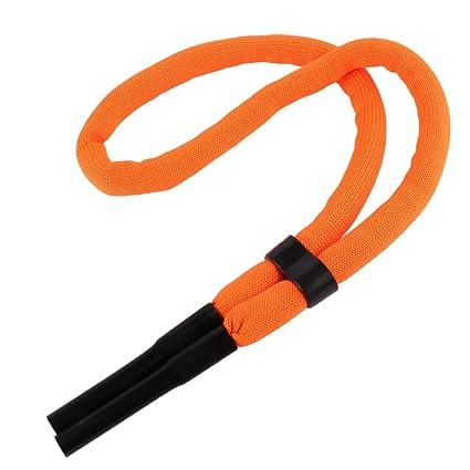 33ab574617cb FEESHOW Adjustable Floating Foam Eyewear Retainer Safety Strap Rope Sports  Glasses Sunglasses Neck Strap Holder Orange One Size - - Amazon.com