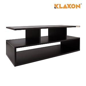 Klaxon Keelan Coffee Table (Matte Finish, Wenge)