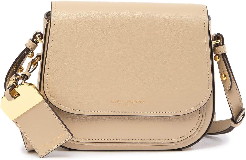 Marc Jacobs Rider Leather Crossbody Bag (Antique Beige): Amazon.ca ...